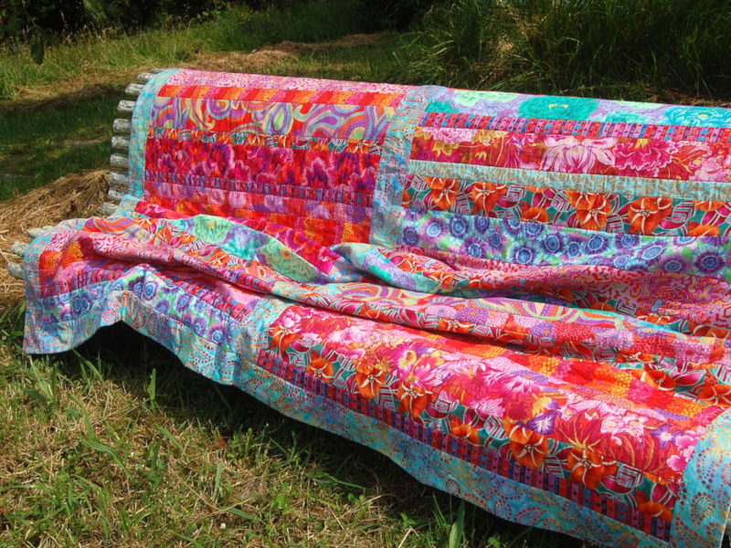 Quilt colorful
